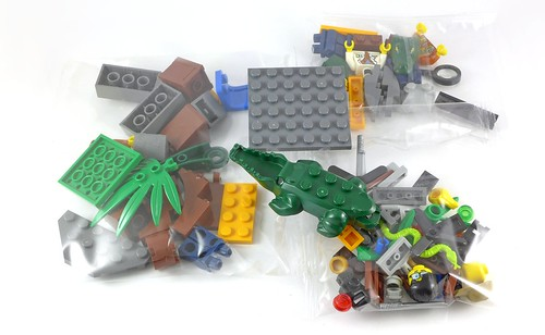 LEGO City 60157 Jungle Starter Set box05