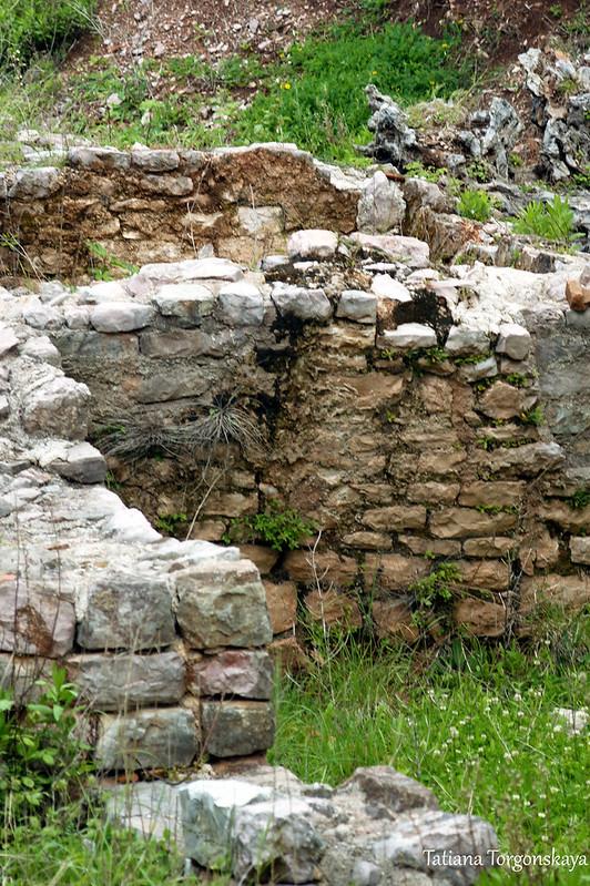 Руины римской виллы