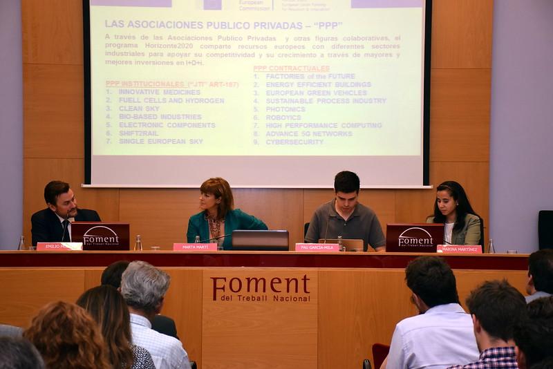 Networking y Lobby en Horizonte 2020: Cómo utilizar el lobby mediante grupos de presión y asociaciones