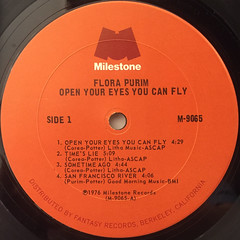 FLORA PULIM:OPEN YOUR EYES,YOU CAN FLY(LABEL SIDE-A)