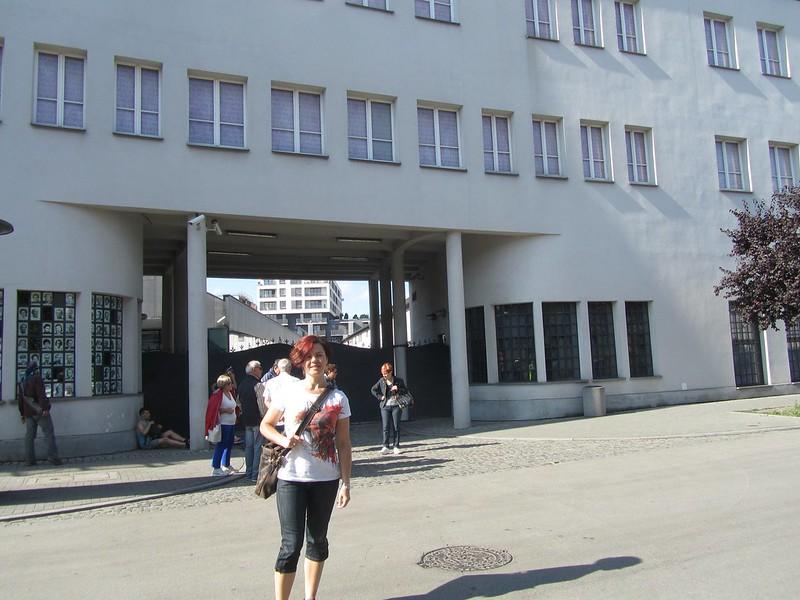 Puerta de la fabrica de Schindler