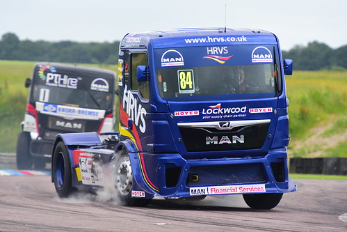 Mat Summerfield, MAN TGS 12600, British Truck Racing Championship, Thruxton 2017