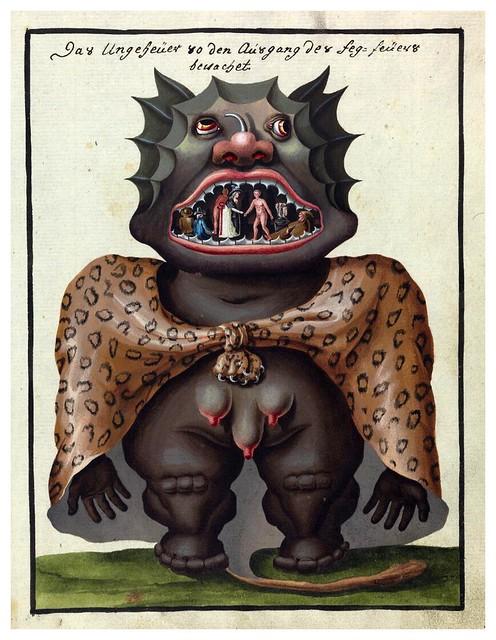 007- Representacion demoniaca-Compendium rarissimum…1775- Wellcome Library