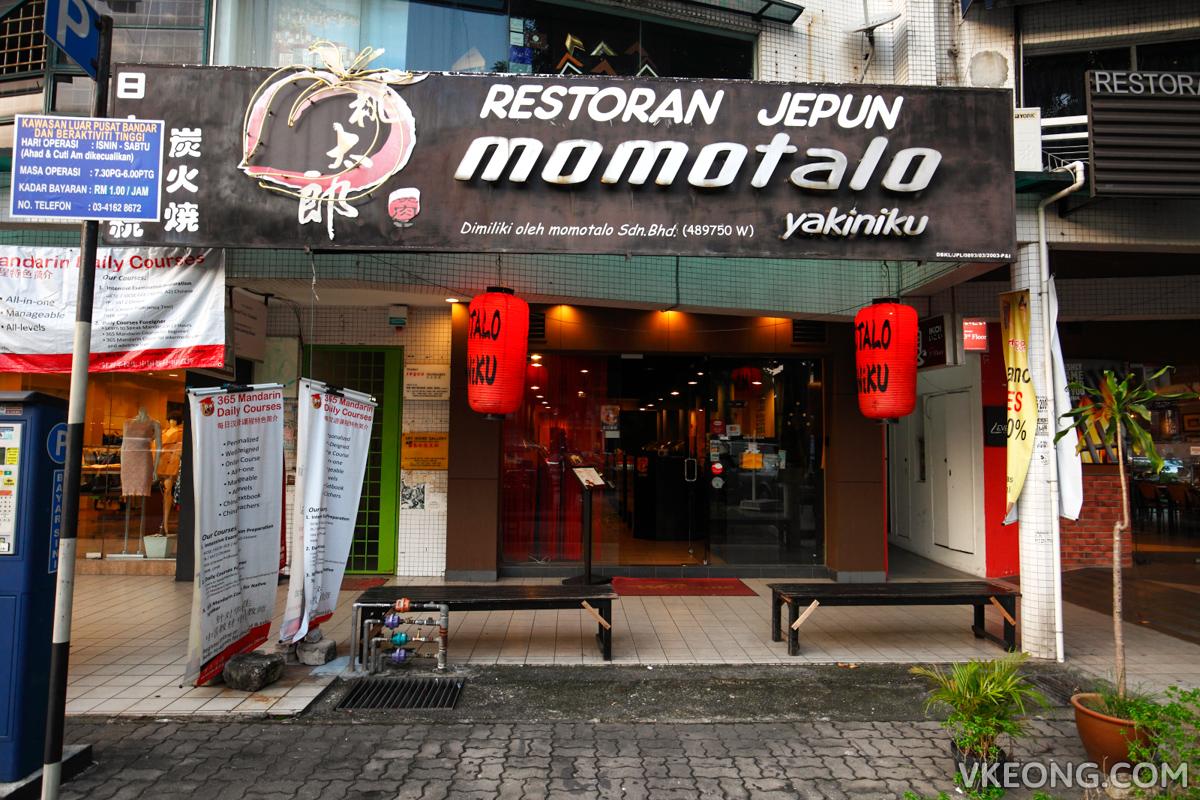 Momotalo Yakiniku Japanese Restaurant Hartamas