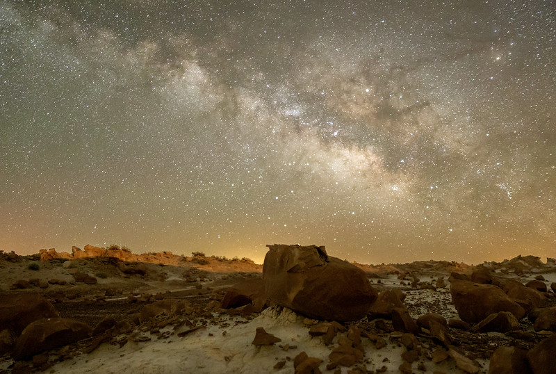 Bisti Milky Way