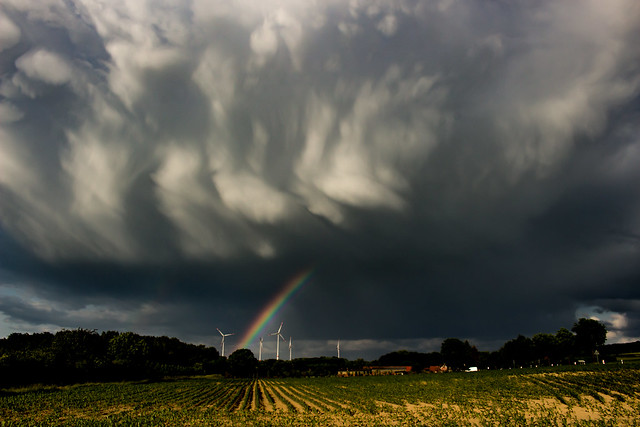 Stormcloud with Rainbow