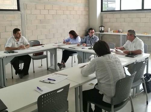 Reunión de trabajo interinstitucional