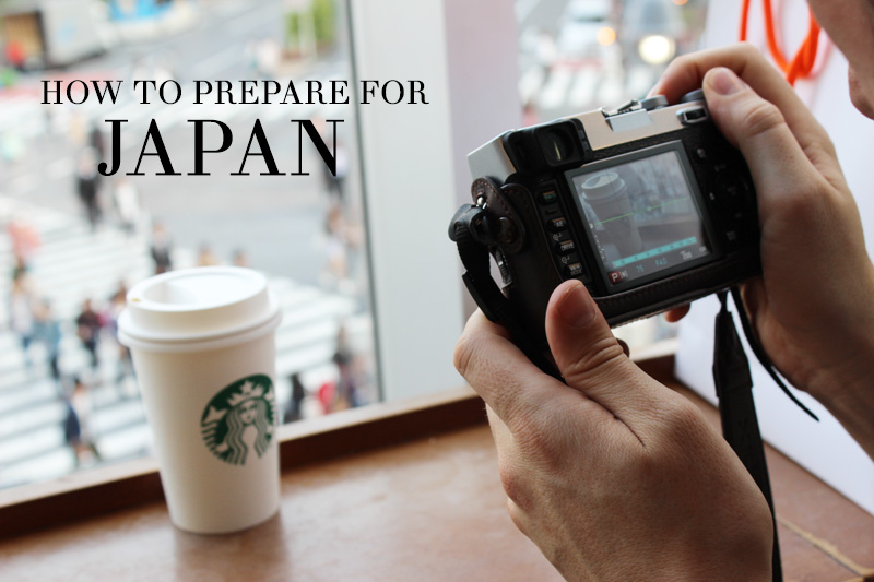 how to prepare for japan