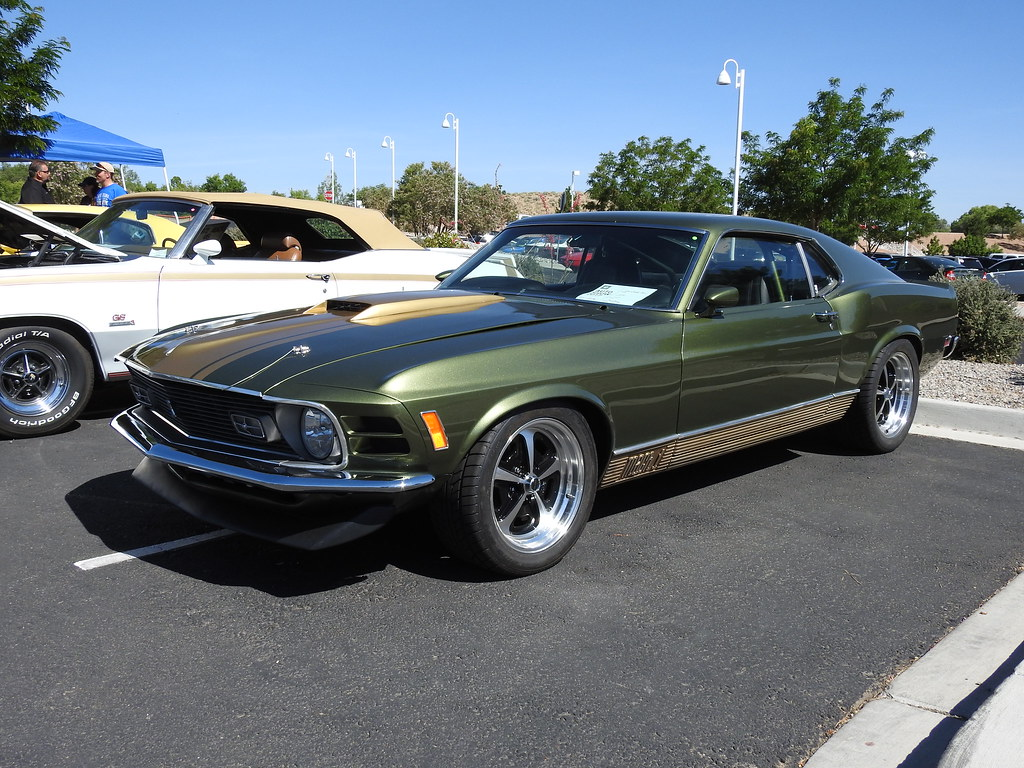 1970 Ford Mustang Mach 1 Sagebrush Church Annual Fathers Flickr By Nmrob