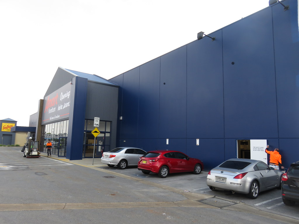 ... Amart Furniture (former Bunnings) Munno Para/Smithfield | By RS 1990