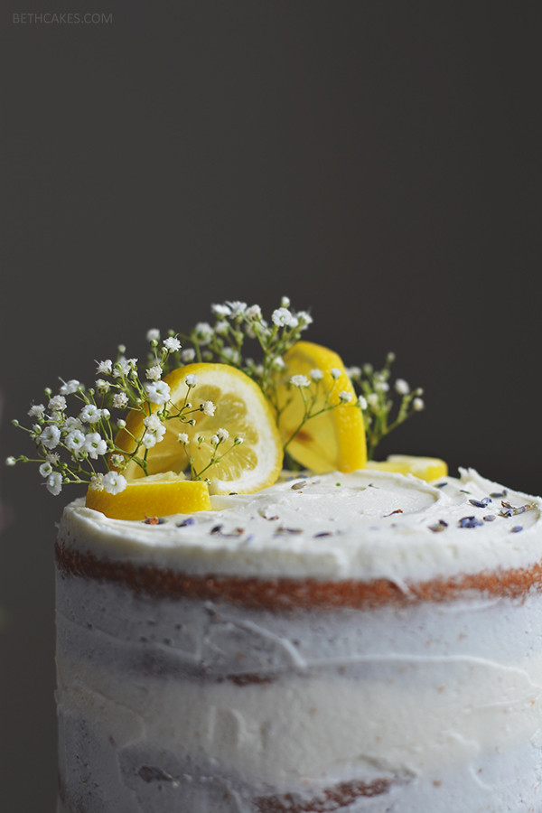 lemon layer cake | bethcakes.com