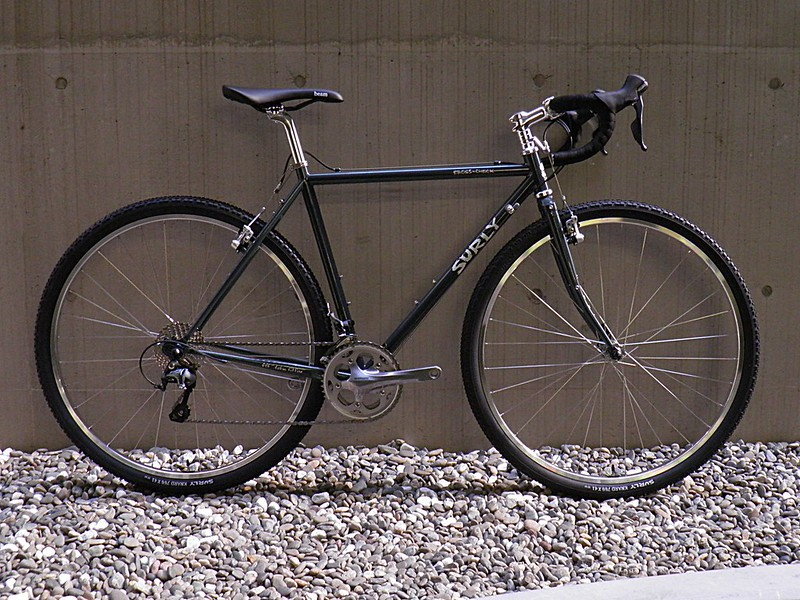 Surly Cross Check Grey Tiagra with Polished Parts 01