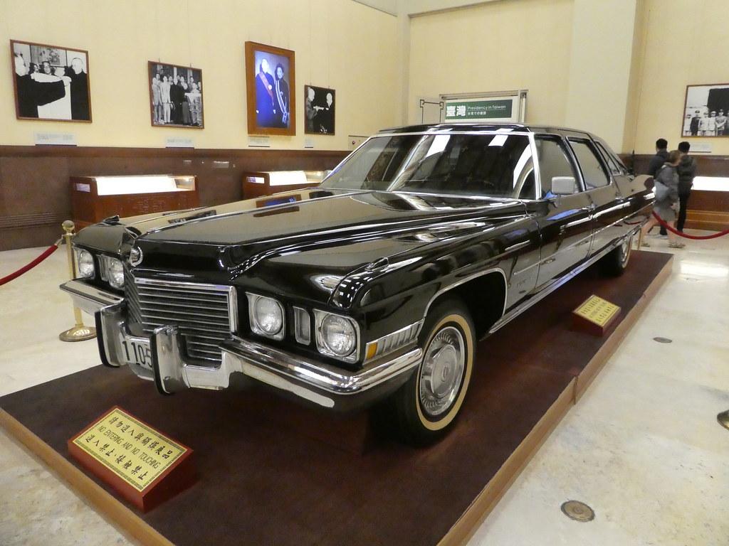 Chiang Kai-shek's Cadillac Fleetwood limousine