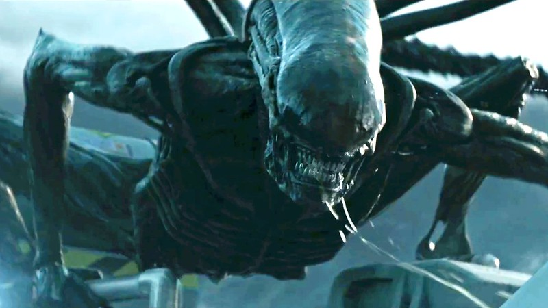 Cheeese! The xenomorph is ready for its closeup in ALIEN: COVENANT.