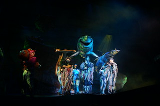Finding Nemo the Musical: Marlin and Bruce | by Disney, Indiana