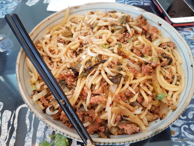Yunnan Style Fried Rice Noodle with Pork
