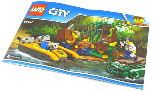 LEGO City 60157 Jungle Starter Set box06