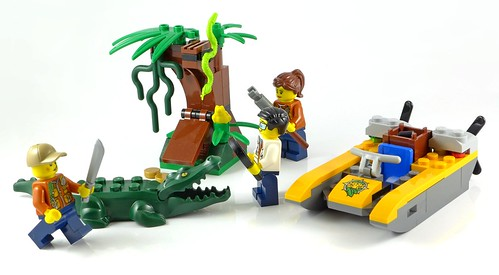 LEGO City 60157 Jungle Starter Set 25