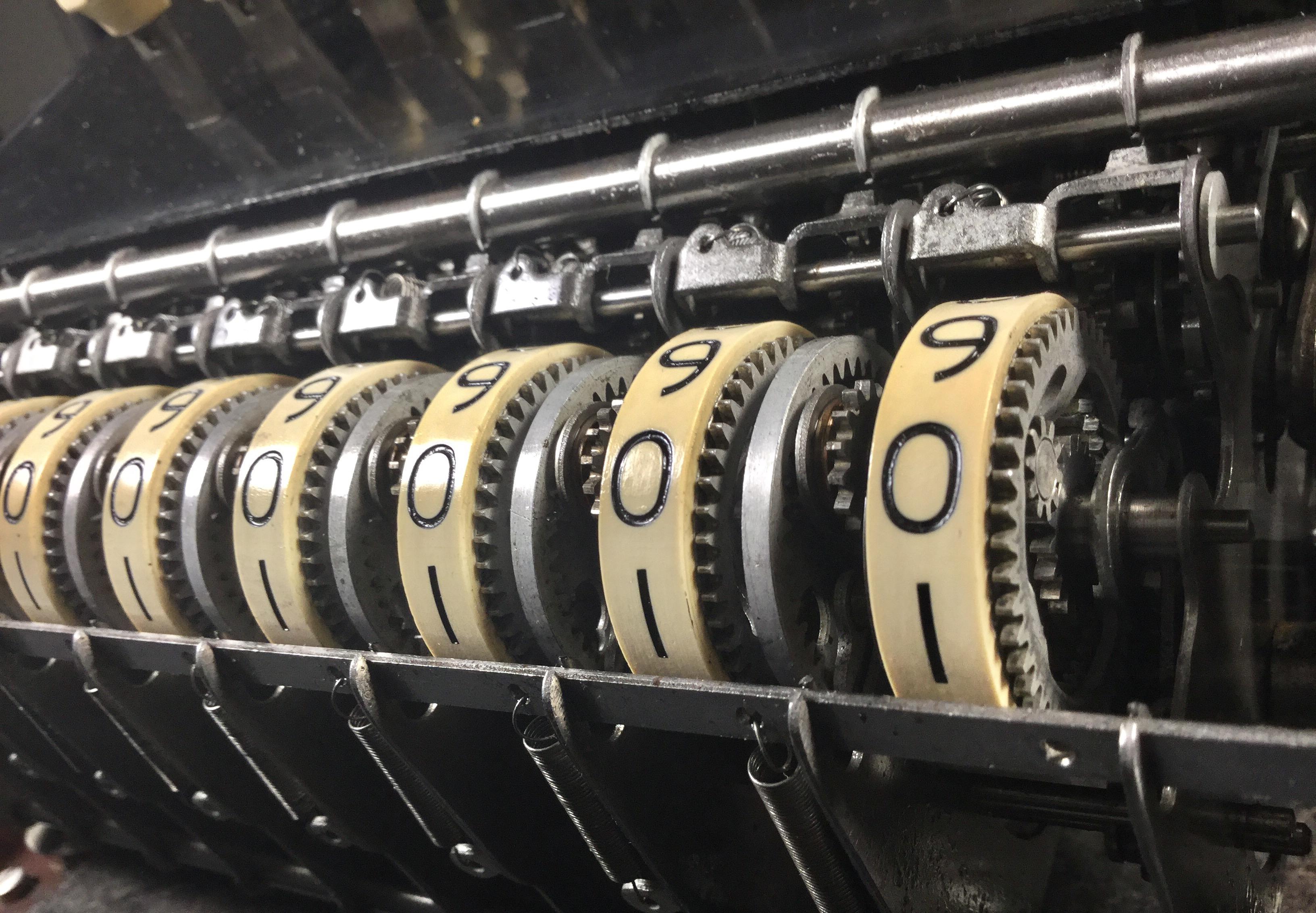 Burroughs Adding Machine Planetary Gears