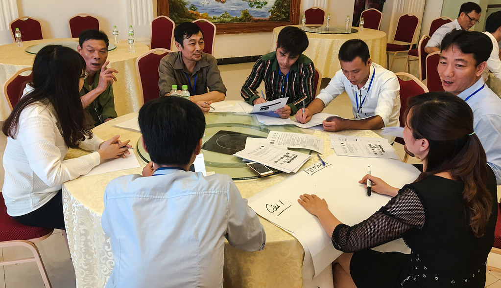 Reflection workshop of PigRISK project in Hung Yen province, Vietnam (5 May 2017)
