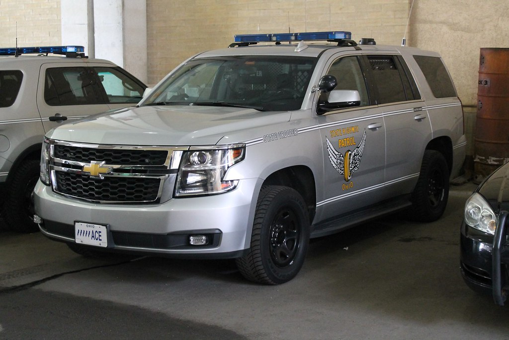 Ohio State highway Patrol K-9 Chevrolet Tahoe   Raymond ...