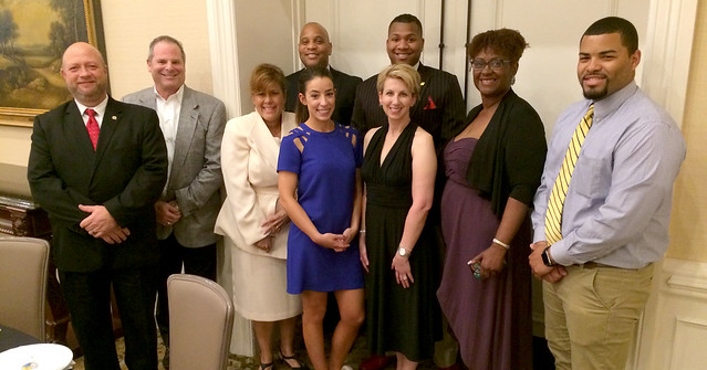 Tennessee team members attend NAMI fundraiser