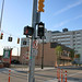 [Photo] Detroit Traffic Lights To Allow The QLine LRV's To Go Southbound On Woodward Ave By The Penske Tech Center