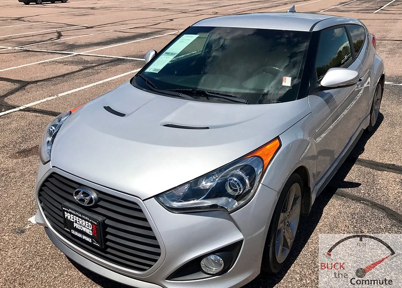 2013 Veloster Turbo Test Drive | Buck The Commute