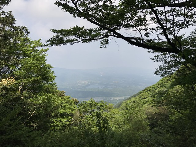 烏帽子岳 細野ルート 第4見晴ポイント