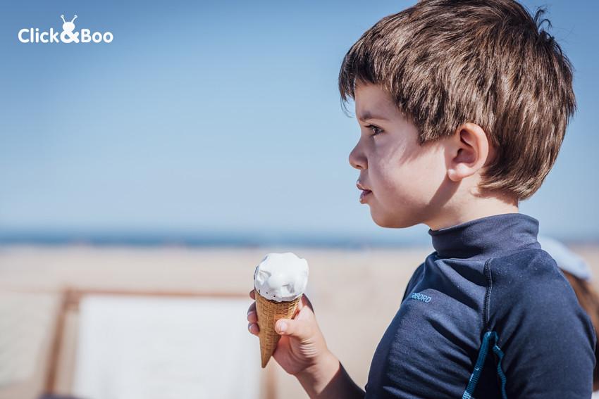 Primeros helados del verano