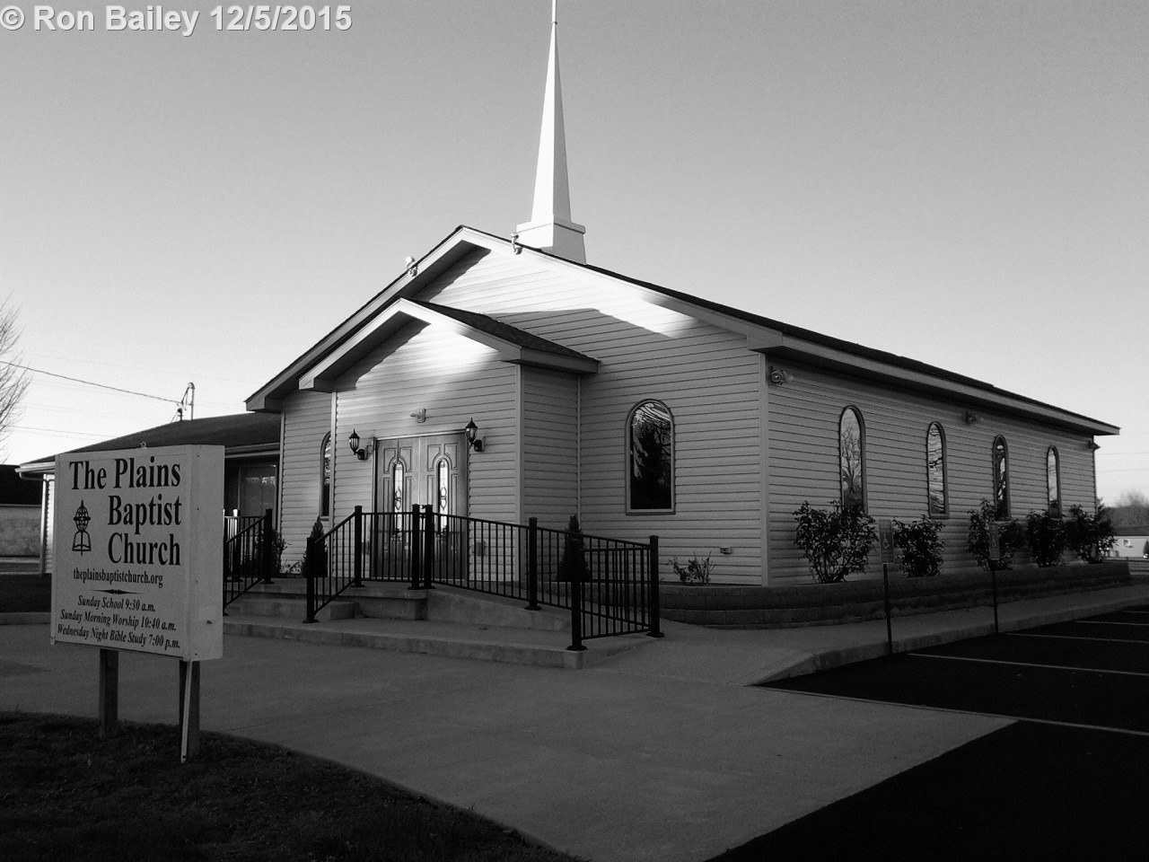 The Plains Baptist Church, The Plains, OH BW