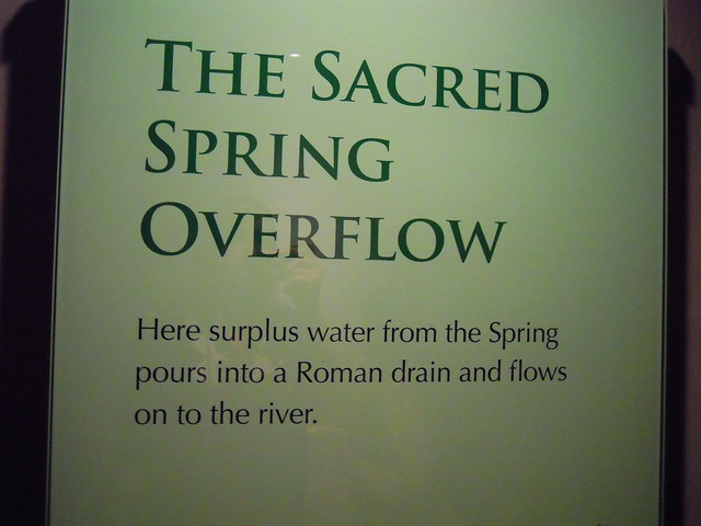 Sacred Spring Overflow. From Studying Abroad in London: A Trip to Bath