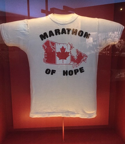 Terry Fox's Marathon of Hope T-shirt
