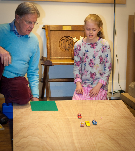 Always moving and all ways moving activity from chapter 2 of Messy Church Does Science