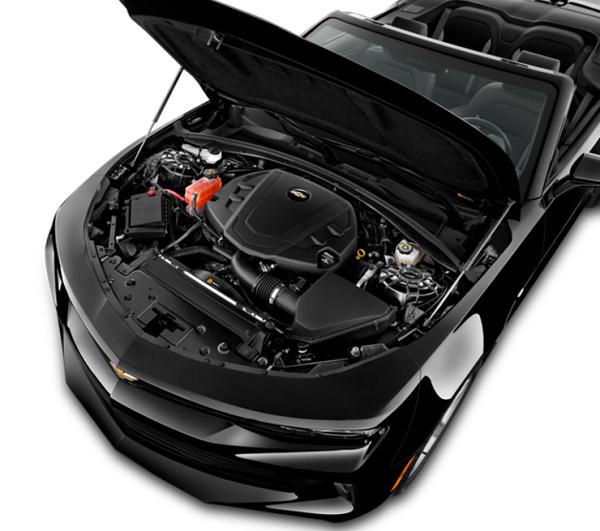 2017 Chevrolet Camaro Convertible エンジンルーム
