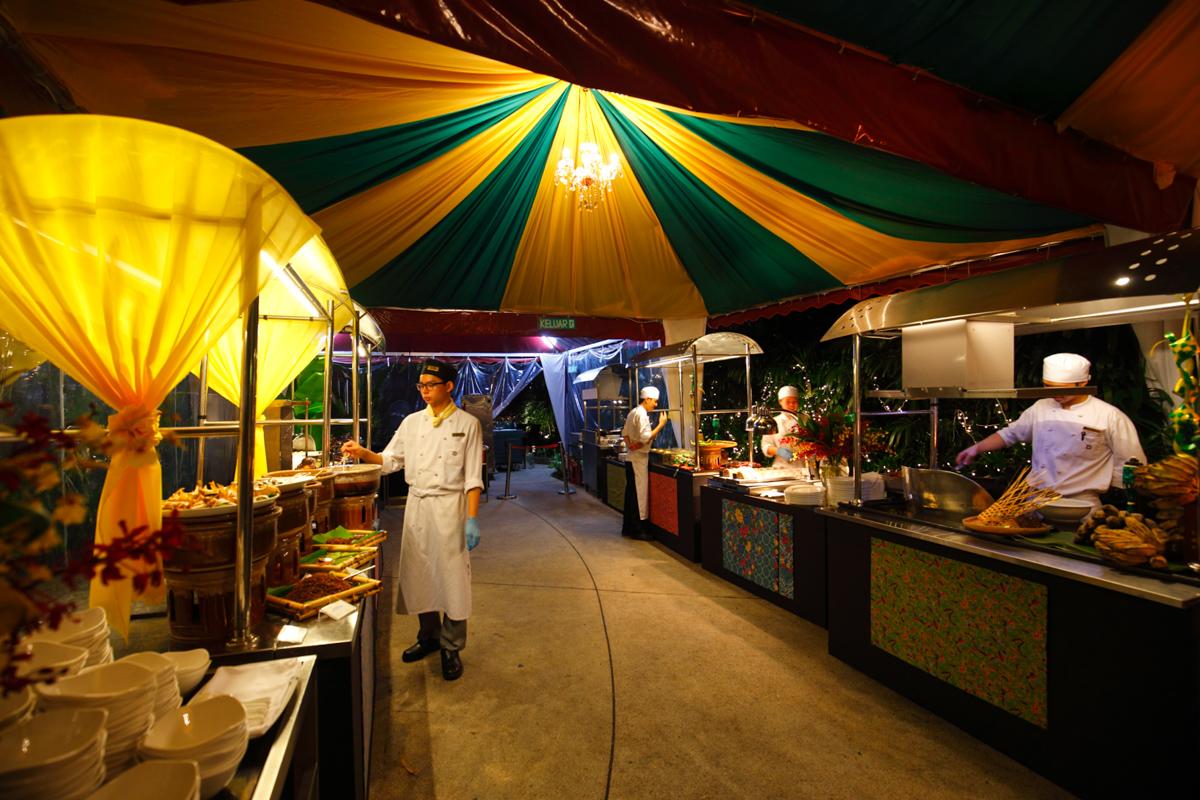 Shangri-la Lemon Garden Buffet Live Action Stalls