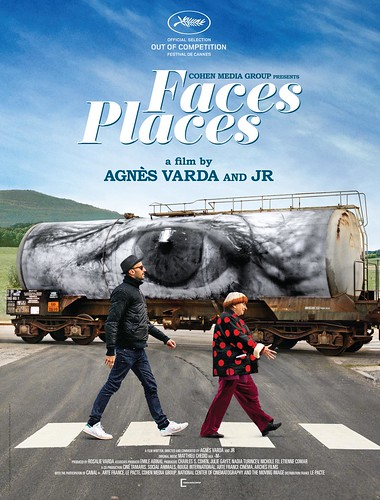 『Visages Villages(原題)』海外版ポスター