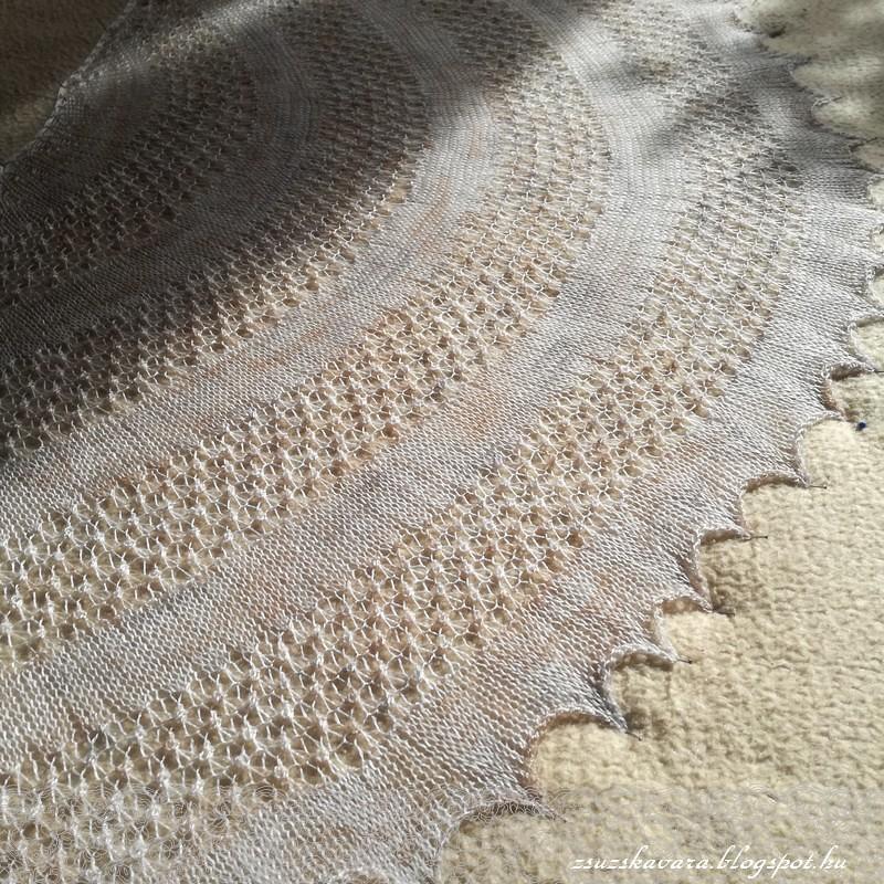 knitting, shawl, kleks, lace, fonalclub