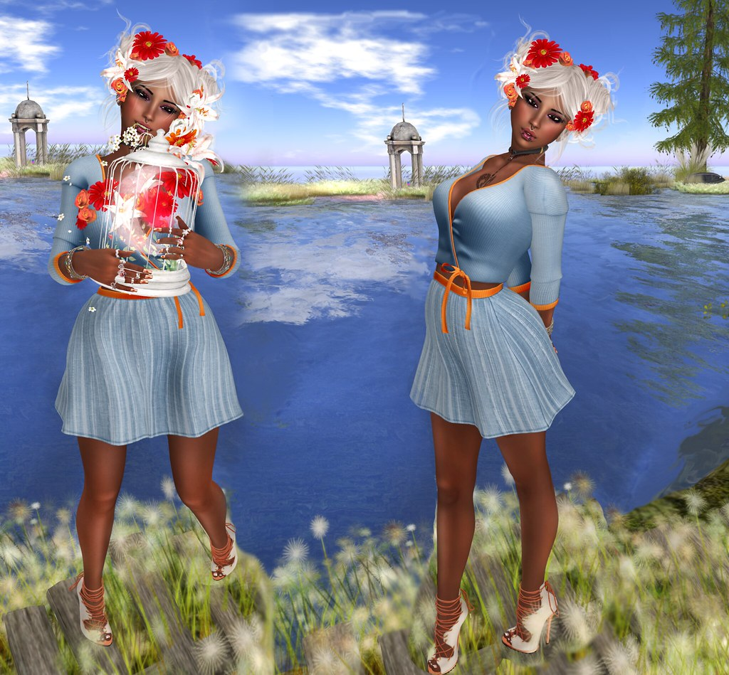 Heydra Skirt & Shirt