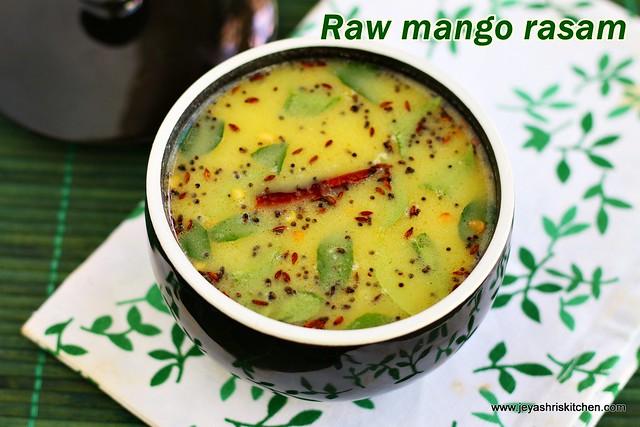 Raw mango rasam