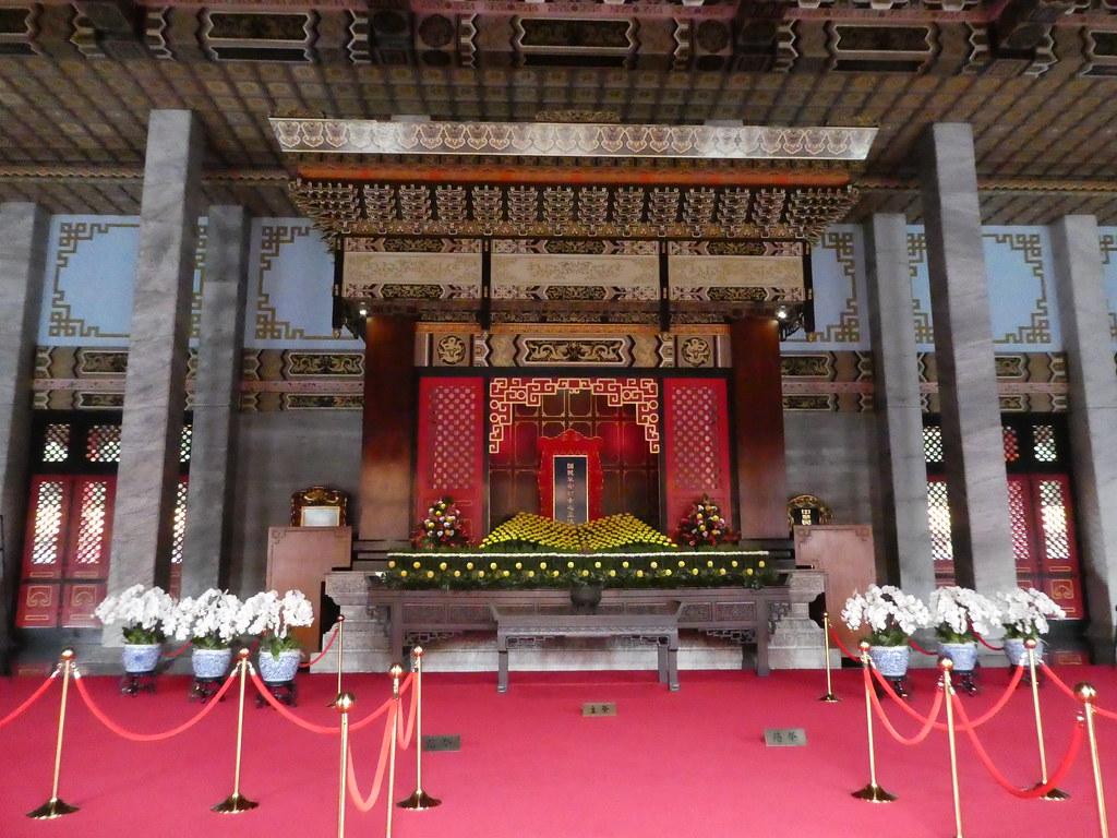 Interior of the Martyrs Shrine, Taipei