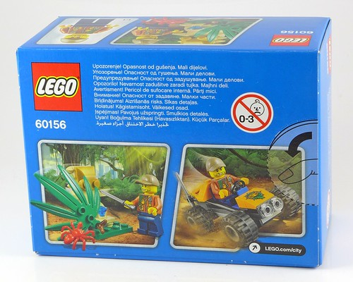 LEGO City 60156 Jungle Buggy box02