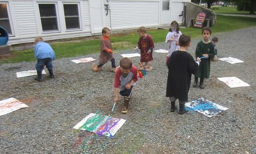 Pollock painting