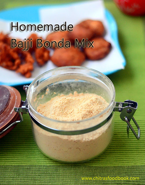 How to make bajji bonda mix at home