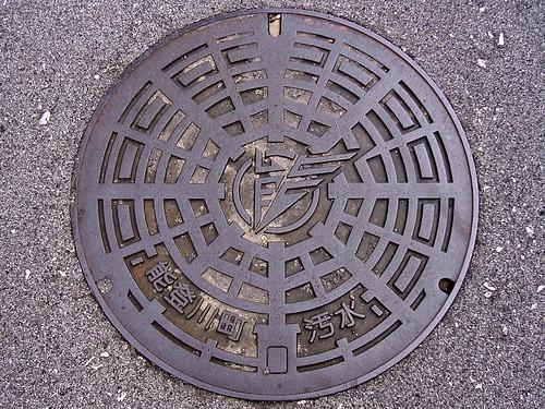 Notogawa Shiga, manhole cover (滋賀県能登川町のマンホール)