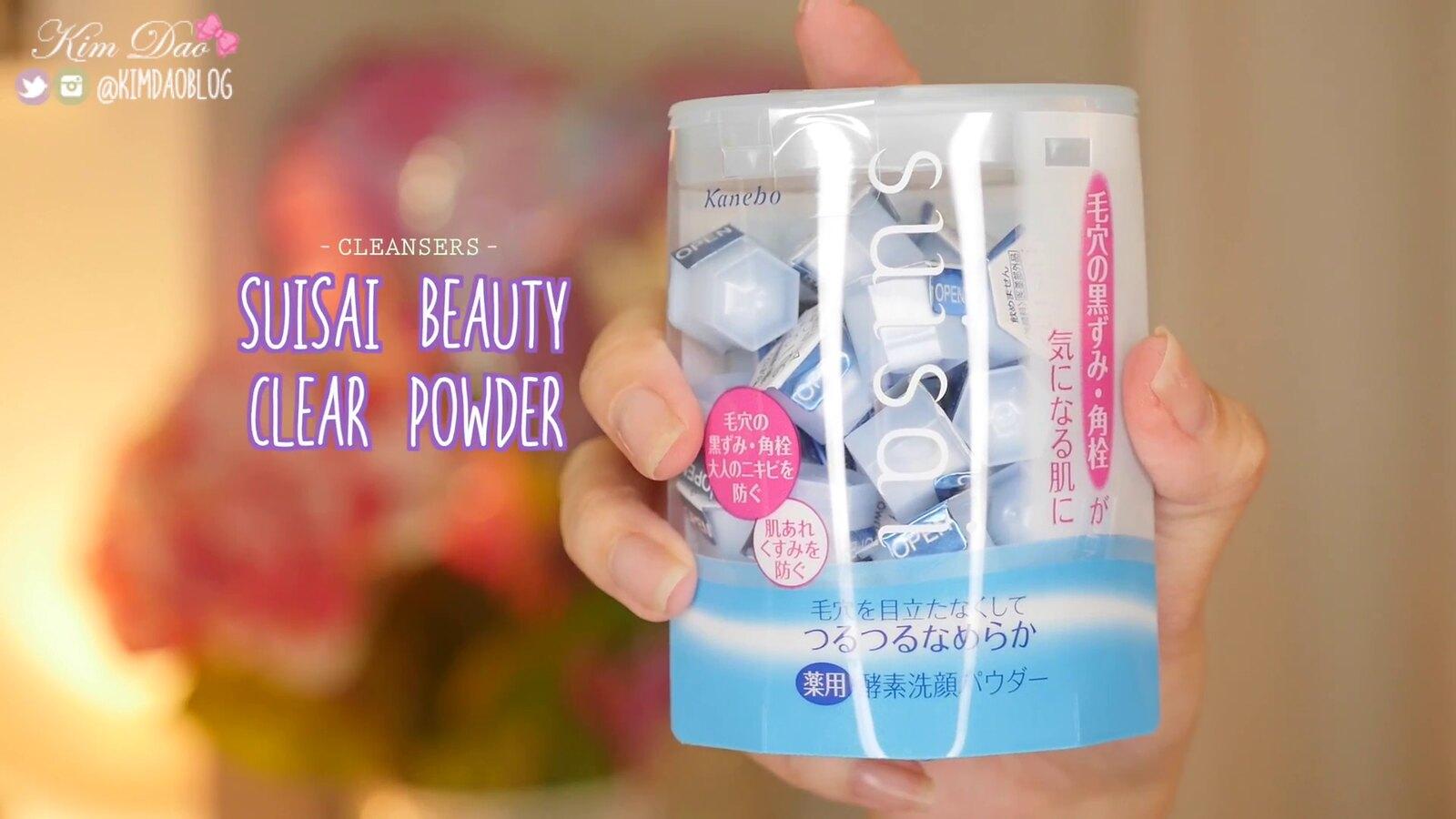 Top 10 Japanese Skincare Kanebo Suisai Kim Dao