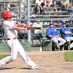 Matt Pidlisecky at plate (photo submited)