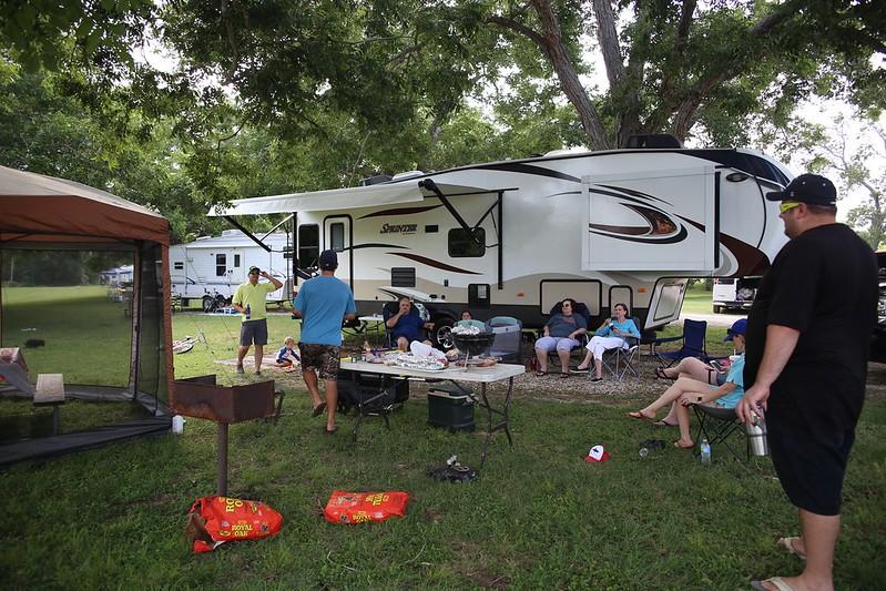Camping Memorial Day