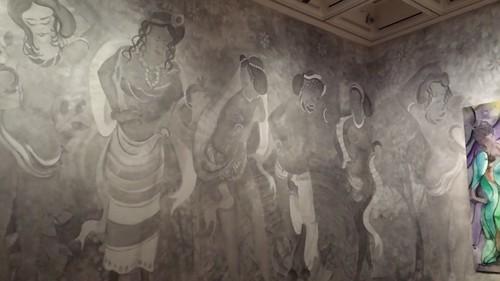 Chris Ofili Tapestry Exhibition