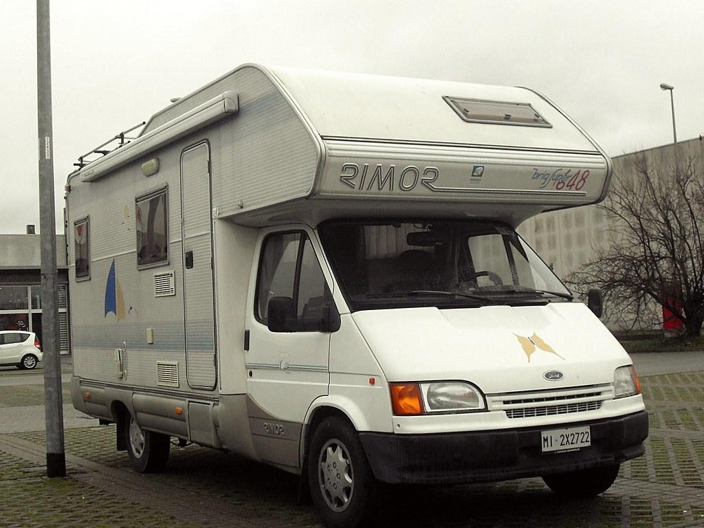 2016 Camper Van >> Ford Transit PL 150 2.5 TD 1992 | Camper Rimor Super Brig 64… | Flickr
